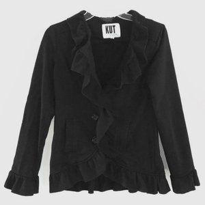 Kut From The Cloth Ruffle Jacket